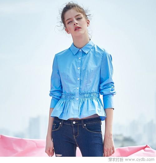 拯救换季造型犹豫症,入夏衬衫非蓝即白