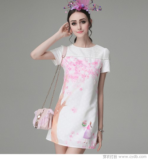 如何才能美得像朵栀子花 让白裙来帮忙