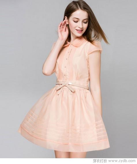 ★女神必备小粉裙,随便穿穿都能美到不行