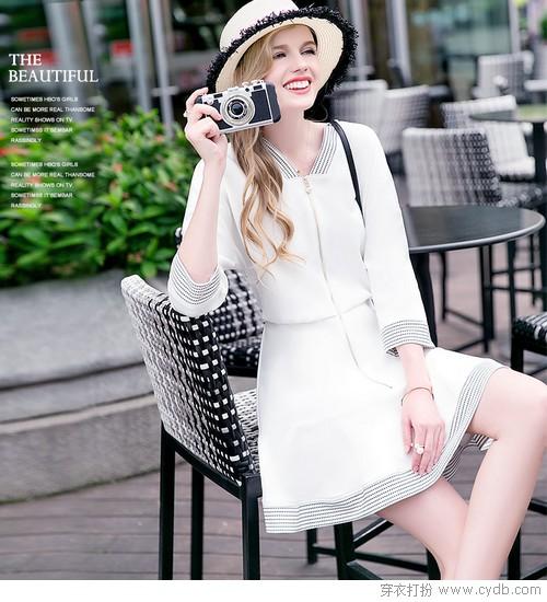 飘飘白裙是夏天最美好的存在