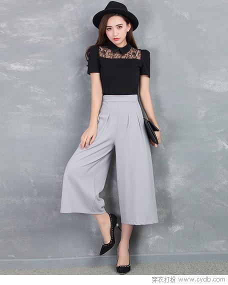 接受吧!裤+裙这样的酷炫组合你拒绝不了