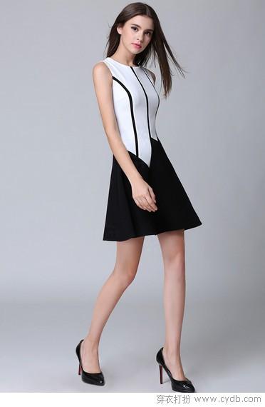 经典黑白:都市时尚的最佳代言