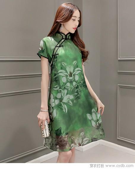 古香雅韵旗袍装,魅力穿越惊时光