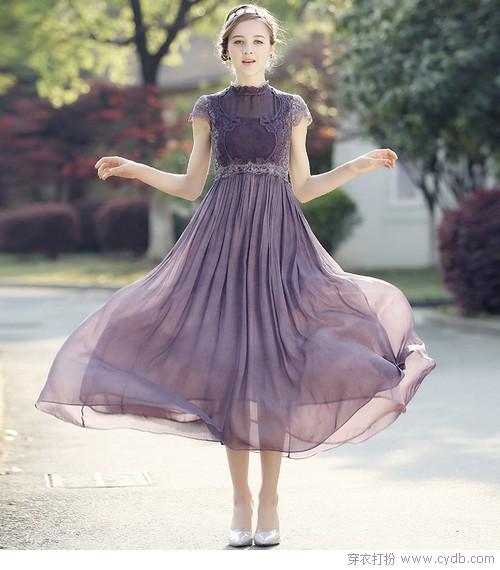 长裙翩跹,舞出浪漫之夏