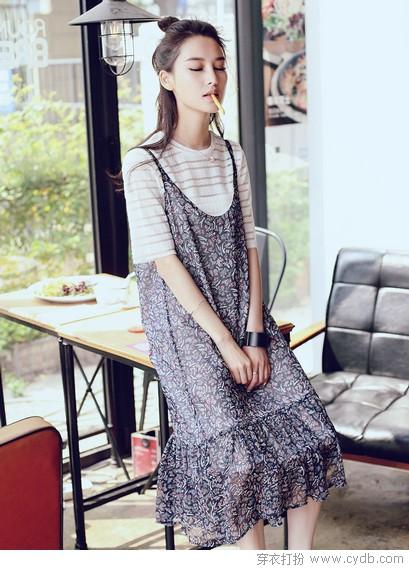 姿色平平的吊带裙,究竟有什么好?