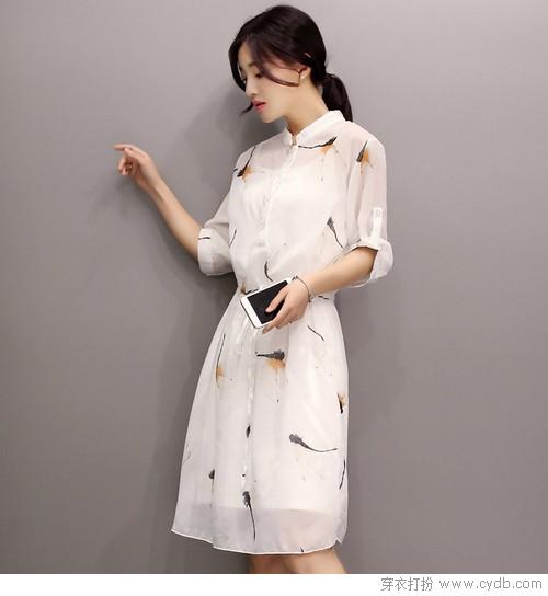 选一条连衣裙,就是最实用的穿衣技巧