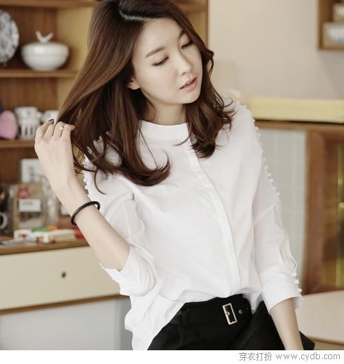 ★你的第一张名片:职场女生都该有的好衬衫