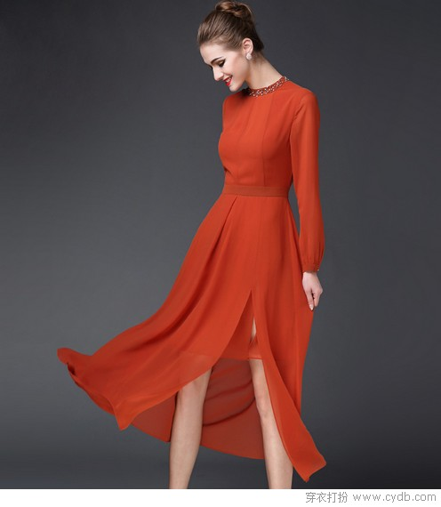 用身高定衣品才是连衣裙穿出好味道的最美捷径