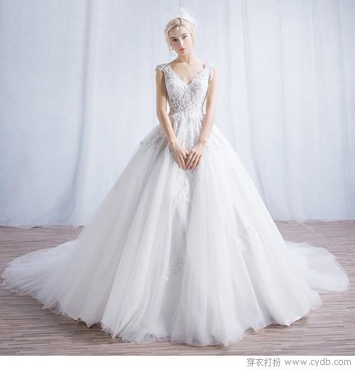 别再租婚纱,平价礼服也能铭记唯美