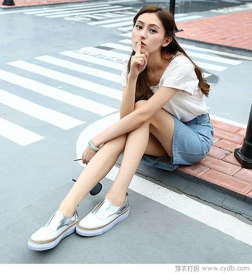 穿舒服鞋走精彩路,小白鞋的浪漫你真懂吗