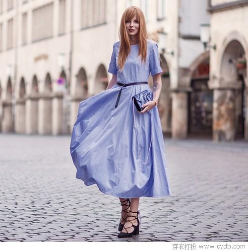 酷暑持续炎热升级,用blue dress来洗洗眼吧