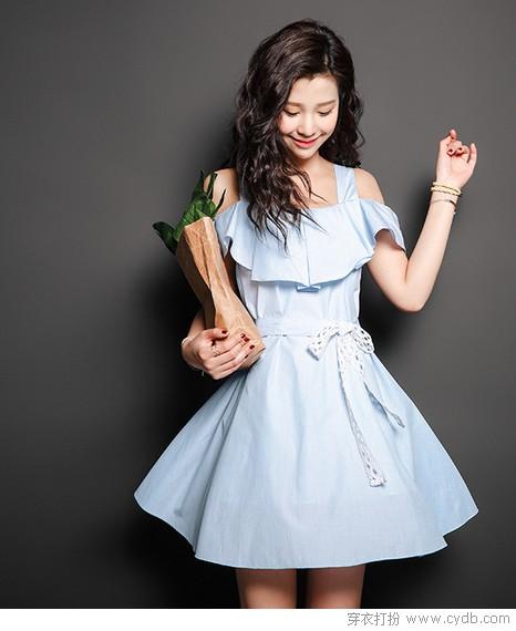 辣眼睛的咱不要,连衣裙就是要自带空调型
