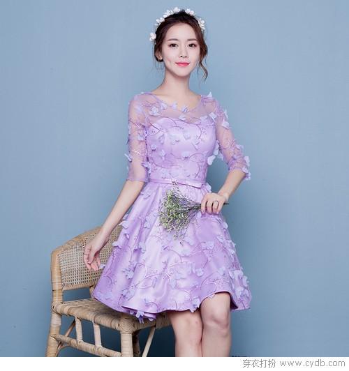 蕾丝+网纱 甜美范儿的最佳CP