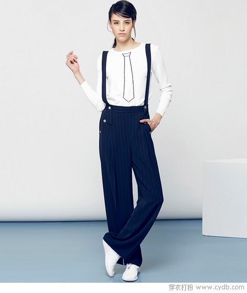 阔腿裤,显瘦时尚的心机SHOW