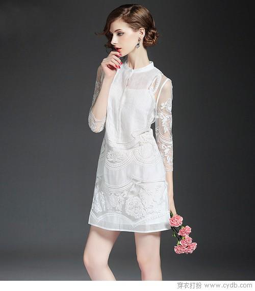 这个时候一条白裙就是约会收割机