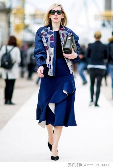 运动时尚风潮之下用小夹克聊表秋意