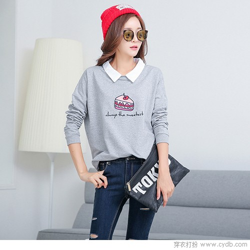 Get<a style='top:0px;' href=/index.php/article/tag/k/%25E6%2597%25A9%25E7%25A7%258B.html target=_blank ><strong style='color:red;top:0px;'>早秋</strong></a>时尚要点,卫衣是首选