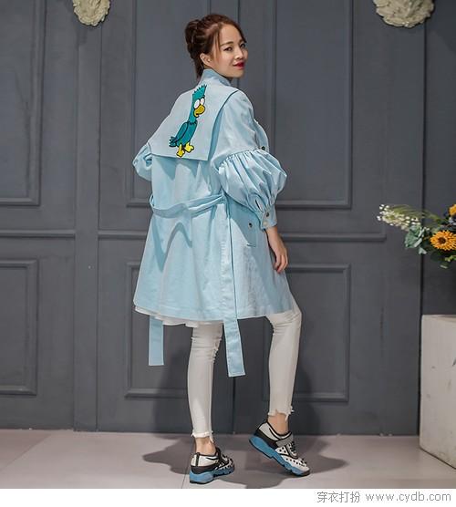 炫酷拉风帅 看风衣的新秋时尚