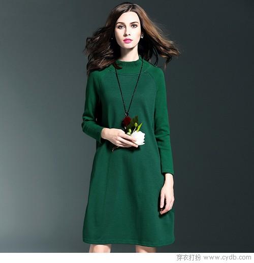 长袖是秋款连衣裙的标签