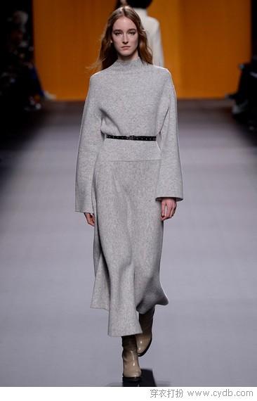 若说谁最时髦,灰色永远低调