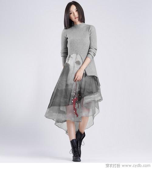 征服秋天 针织裙比你更积极