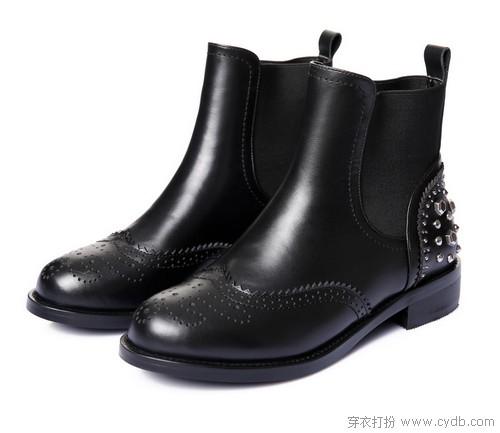 潮不潮,就看短靴如何刷出存在感