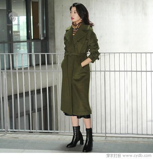 酷女孩之选,军绿还能再帅几百年