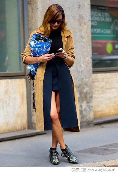 麂皮绒刷新成熟度 时髦保暖连连看