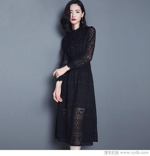 蕾丝裙:万能的内搭,行走的优雅