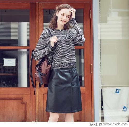 衣橱新宠半身裙:长肉&腿型差,有它都不怕