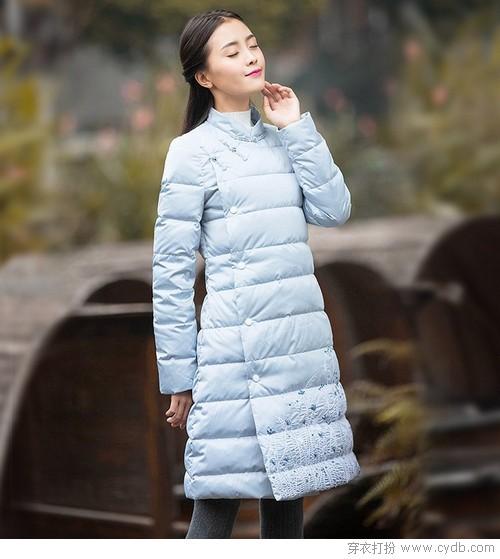 超保暖:中长款羽绒的最佳福利