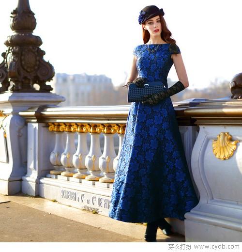 叠搭真爱连衣裙,比起时髦更要夸它艺术帝