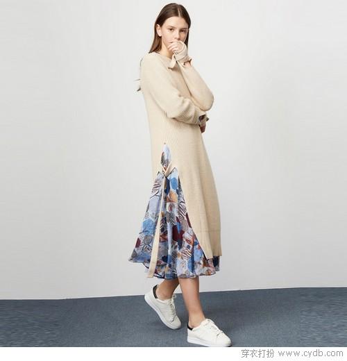 毛衣裙,让你轻松掌控冬日时尚