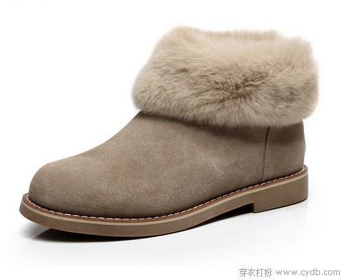谁说只有下雪天才能穿雪地靴?