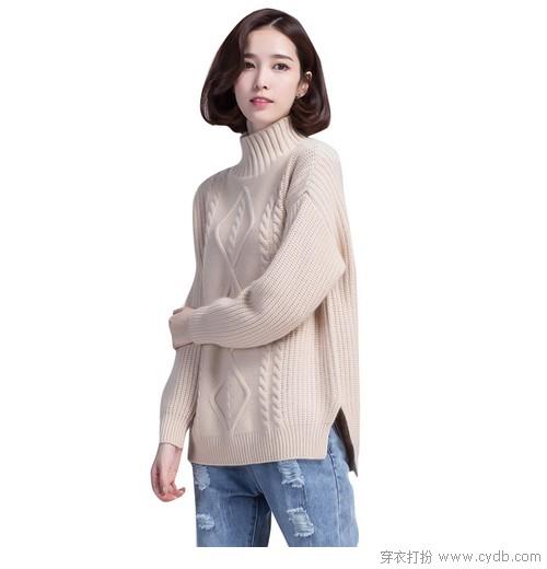 除了打底,毛衣更懂冬天的靓丽