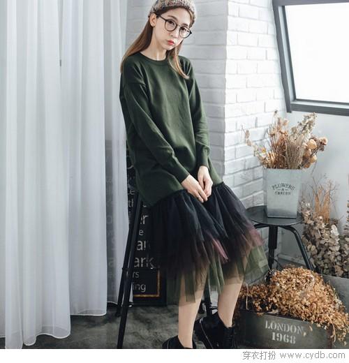 针织连衣裙的魅力,无法抵挡!