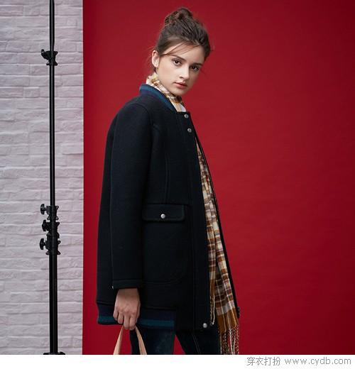 短一点的毛呢,是小个子的大衣!