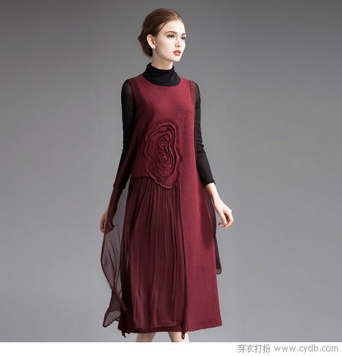 层次穿搭第一步,连衣裙美到目不暇接