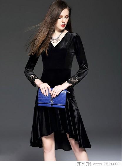 搭一搭潮流的末班车,来件丝绒裙可好?