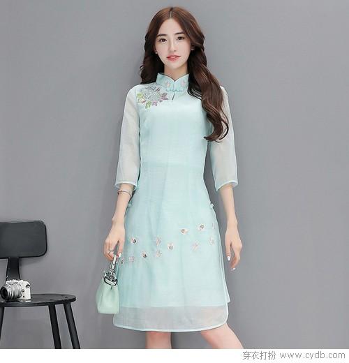 时装新宠:网纱+刺绣的美好时代