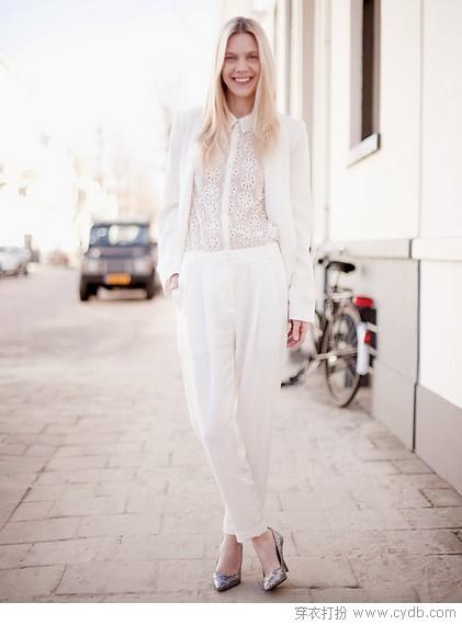 穿好白色,离女神更进一步