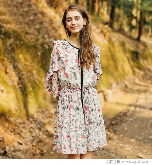 没点儿特别之处,怎么能成为早春的裙子!