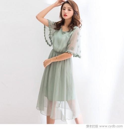 雪纺裙耍花样 为夏天加点美貌