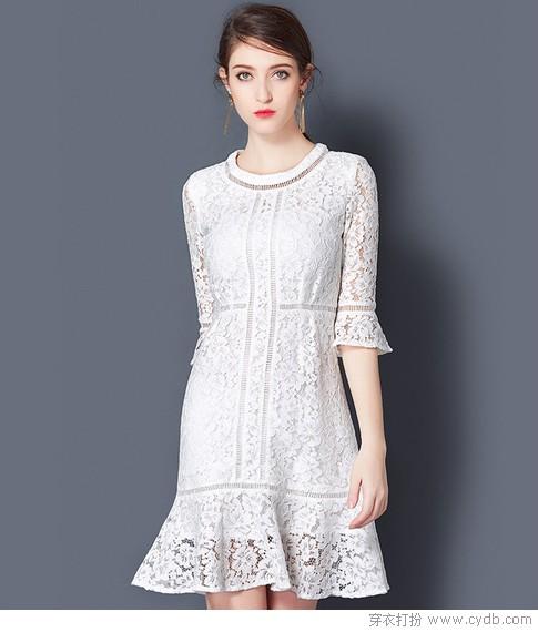 爱穿裙子的女孩,运气都不会太差!