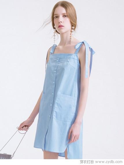 吊带裙的夏天,清爽自在无边
