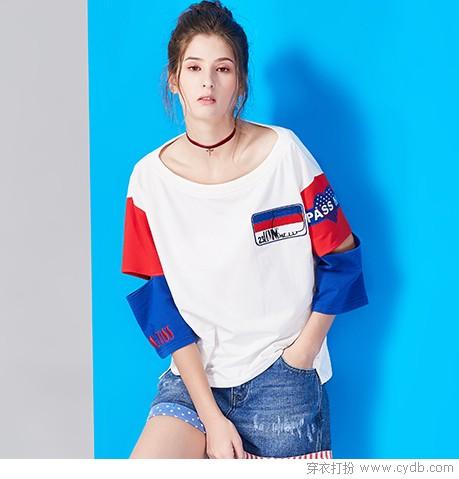 我确信,T恤衫是夏天的标配