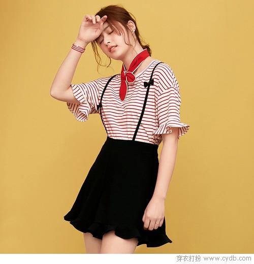 时尚感始终在线,条纹衫值得精挑细选