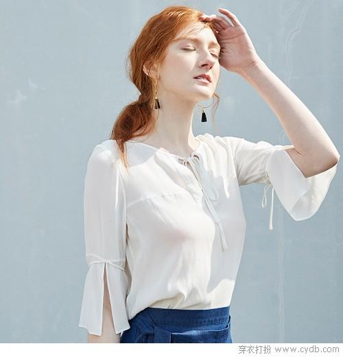 小清新的自然高度 衬衫最懂