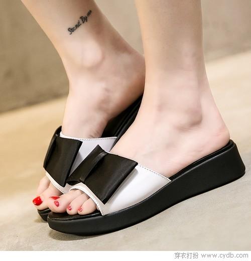 拖鞋的时尚经,从与众不同开始!
