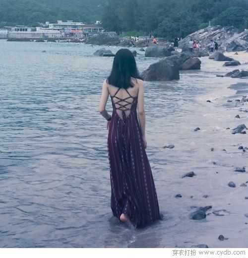 暑假热浪来袭,海边最美风情属意最美的你